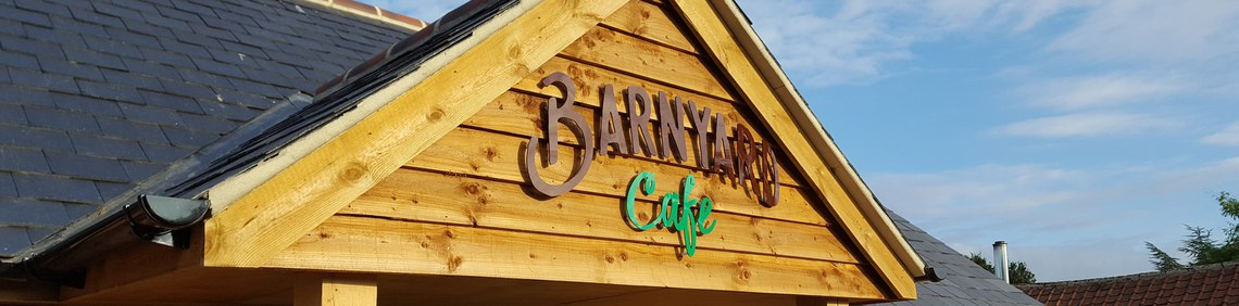Calcott Hall | The Barnyard Cafe